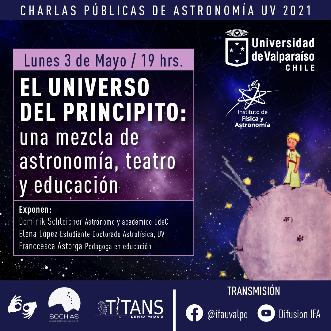 """""""The Universe of the Little Prince: a mixture of reading, theater and pedagogy"""""""