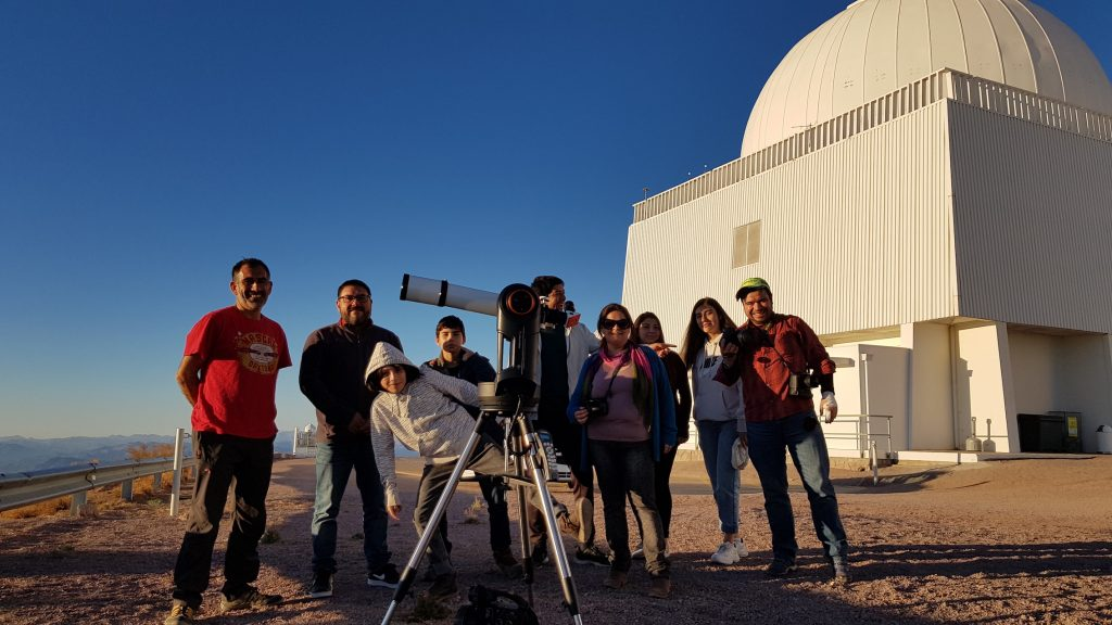 Open Call for the largest School Astronomical Congress in Chile
