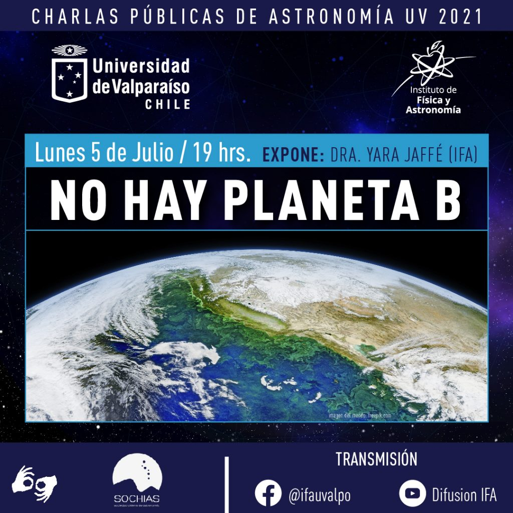 Urgente llamado por el Planeta realiza astrónoma de la UV