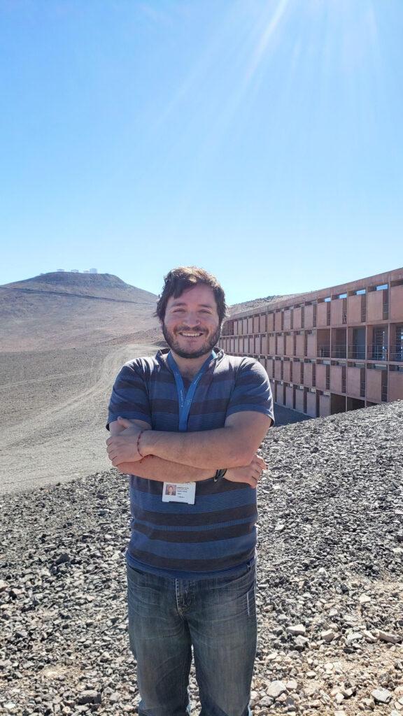 Alumno de Postgrado del IFA realiza visitas virtuales en los observatorios ESO para escolares