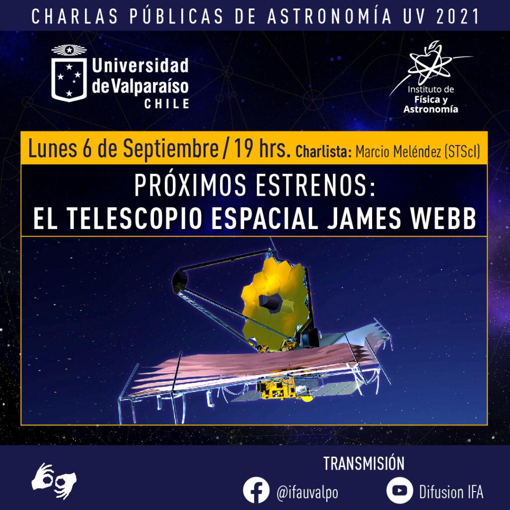 Científico que trabaja en el Telescopio James Webb, uno de los más ambiciosos de la historia, dará charla pública en la UV