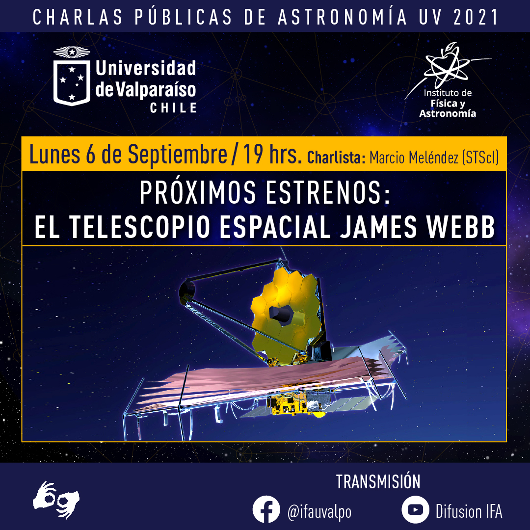 Scientist working at the James Webb Telescope, one of the most ambitious in history, will give a public talk at the UV