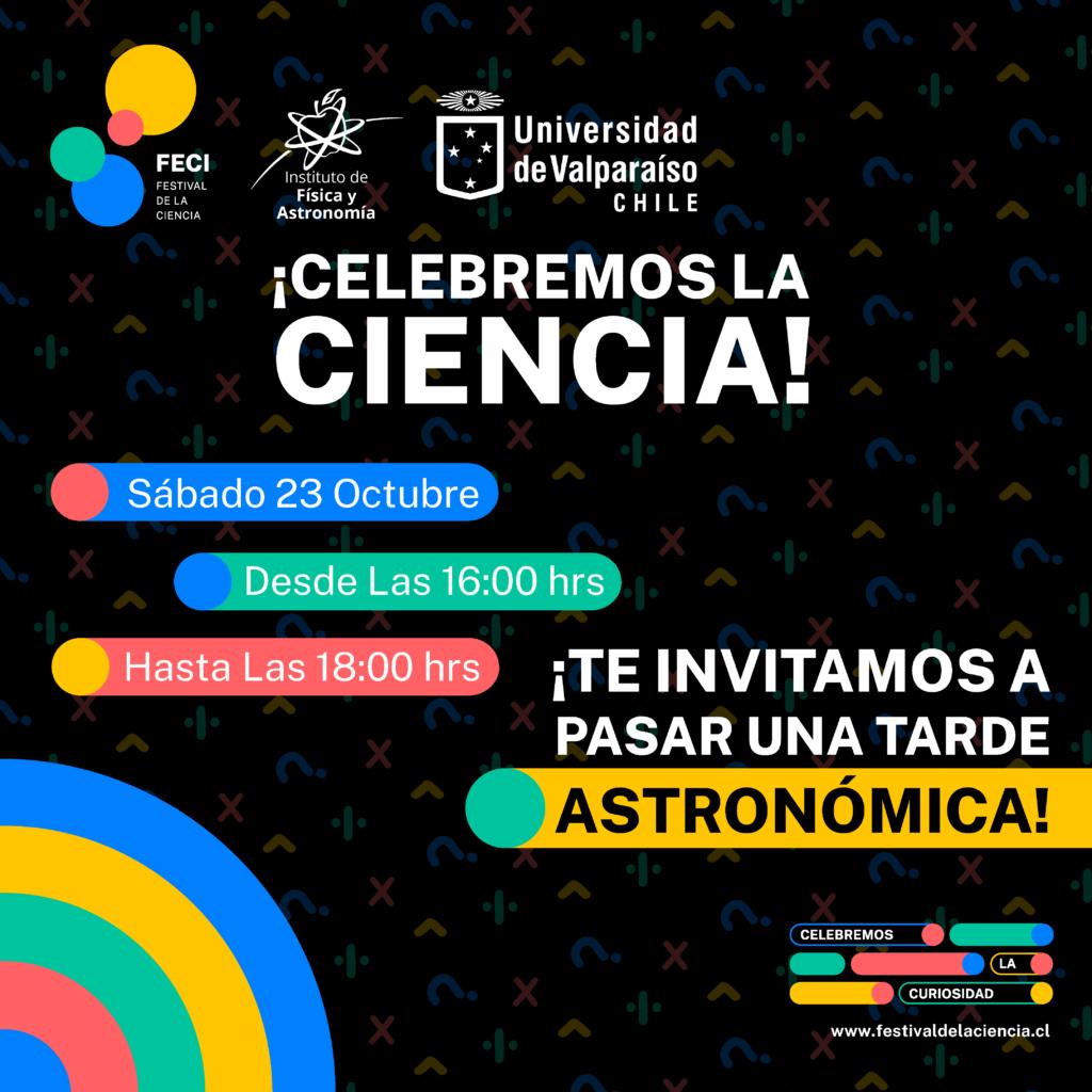 IFA organiza Tarde Astronómica en el marco del Festival de la Ciencia FECI 2021